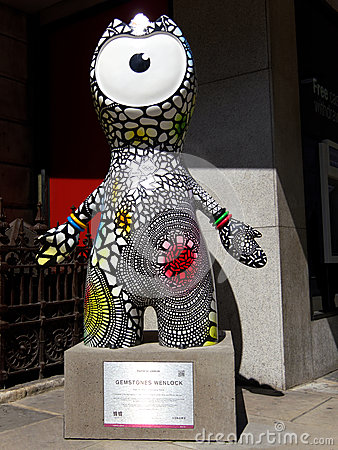 Gemstones Wenlock on Piccadilly, London Editorial Photo