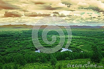 Gen Wetland, Mongolia Province, China