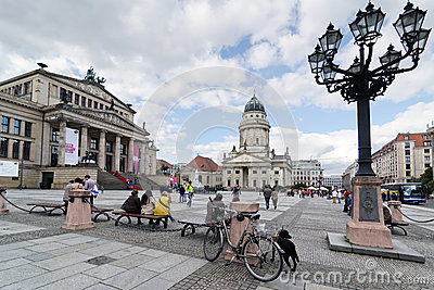 Gendarmenmarkt Editorial Photo