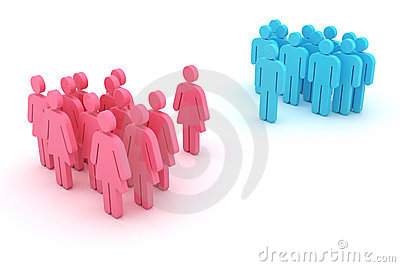 Gender confrontation