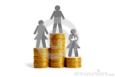 Gender differences in salaries