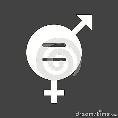 Gender Equality Vector Illustration
