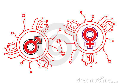 Gender Icon Circuit