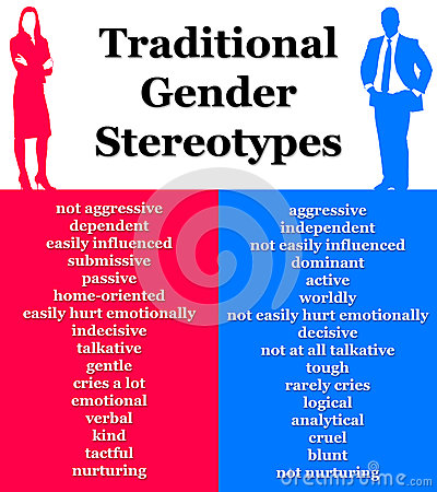 media stereotyping of men and women essay