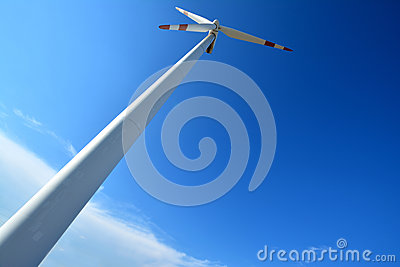 Generador de poder del molino de viento