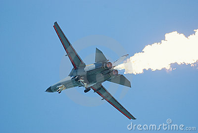 General Dynamics F-111 at Singapore Airshow Editorial Stock Image