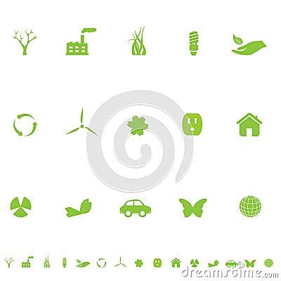 General Eco Environment Symbols