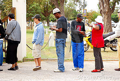 General elections South Africa 2009 Editorial Stock Image