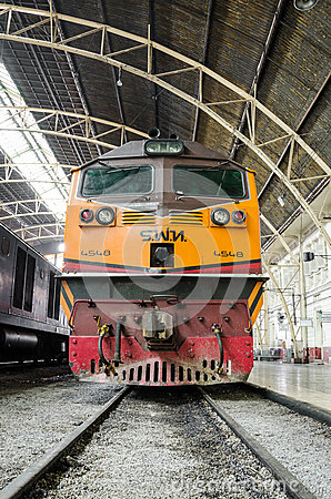 General electric locomotive. Editorial Stock Image