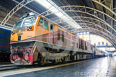 General electric locomotive. Editorial Stock Photo