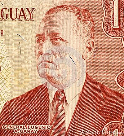 General Eugenio A. Garay Editorial Stock Photo