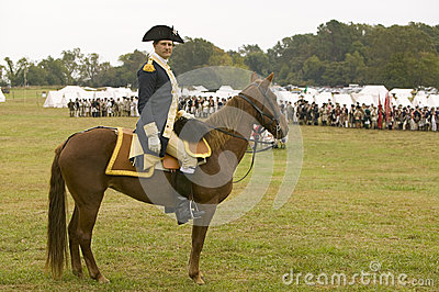 General George Washington Editorial Stock Image