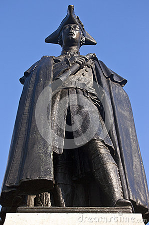 General James Wolfe Statue in Greenwich Park