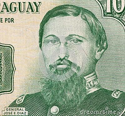 General Jose Edubigis Diaz Editorial Image