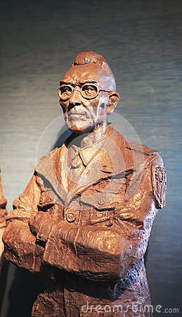 General joseph stilwell statue