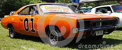 General Lee Stunt car Editorial Stock Photo
