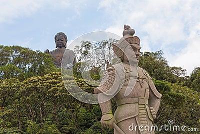 The General Makura at Ngong Ping