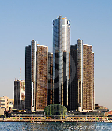General Motors headquarters Editorial Stock Image