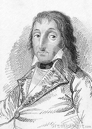 General Pierre Augereau Editorial Stock Image