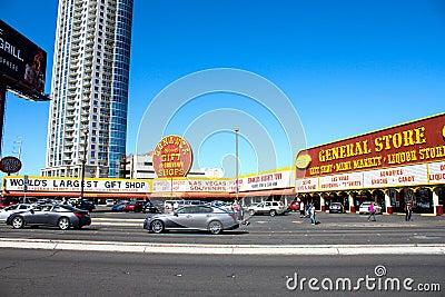 General Store, Las Vegas, NV. Editorial Photo