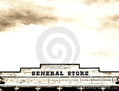 General store on main street America
