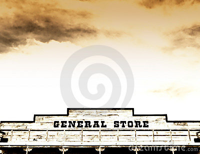 General store on main street America