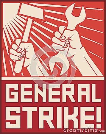 General strike poste