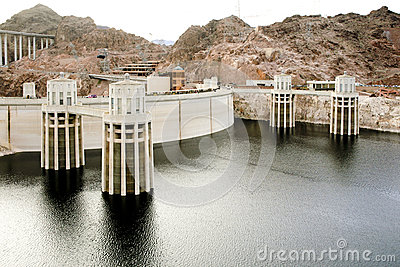 General View of the Hoover Dam