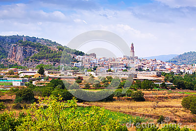 General view of Jerica. Valencian Community
