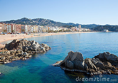 General view of  Lloret de Mar