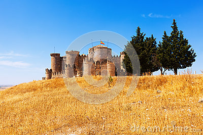 General view of Medieval Castle in Belmonte