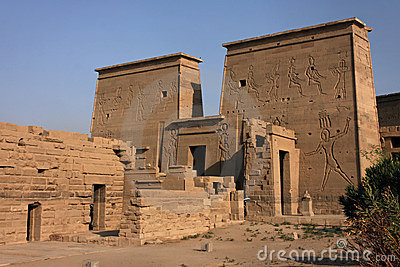 General view of Philae temple