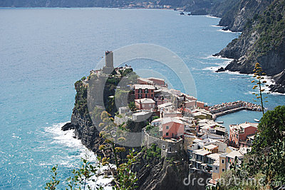 General view of Vernazza