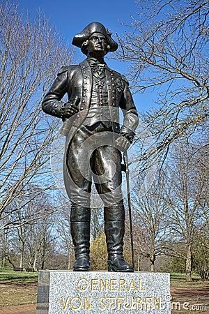 General Von Steuben Memorial Monmouth Battlefield