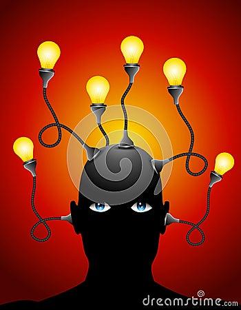 Free Generating Ideas Imagination Royalty Free Stock Image - 4824646