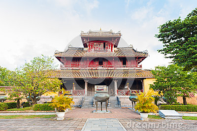 The Generations Temple in the citadel of Hue Imperial City