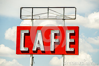 Generic Cafe Sign