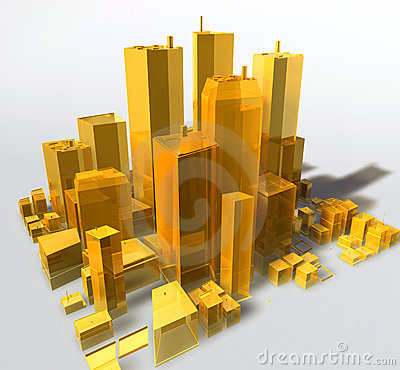 Generic city illustration