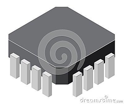 Generic computer microchip