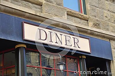 Generic Diner signage