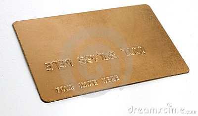 Generic gold biz credit cards