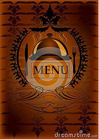 Generic restaurant menu