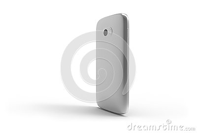 Generic smartphone (with shadow)