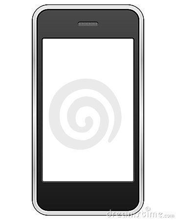 Free Generic Touch Screen Cell Phone Stock Image - 15084281