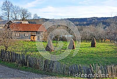Generic transylvania rural household