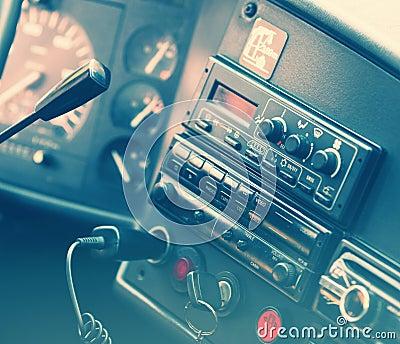 Generic truck dashboard