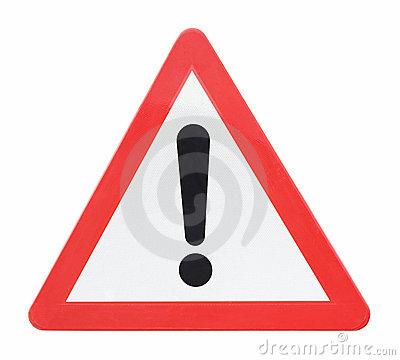 Free Generic Warning Stock Photo - 20896820