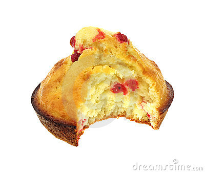 Generous Bite Raspberry Muffin