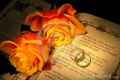 Genesis and wedding rings
