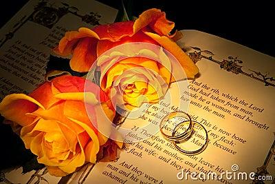 Genesis and wedding rings